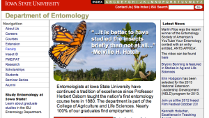 Department of Entomology at Iowa State - a winner!