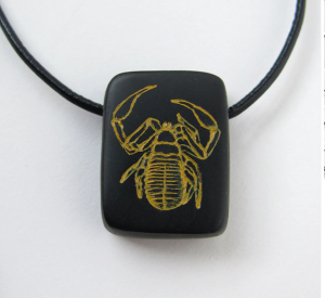 The pseudoscorpion necklace.  You want one.