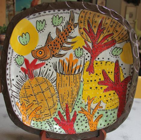 A Devonian Platter