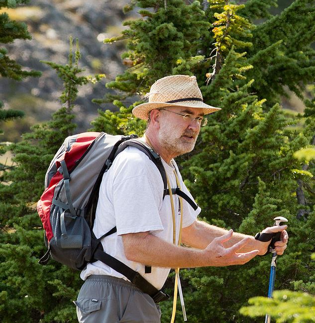 Robb Bennett: a most exceptionally wonderful person (and Arachnologist). Photo by Sean McCann.